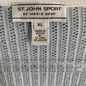 St. John Sweaters - St John Sport Santana Knit Gold Starfish Cardigan